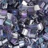 Miyuki Tila Bead 5X5mm 2 Hole Crystal Transparent Light Vitrail